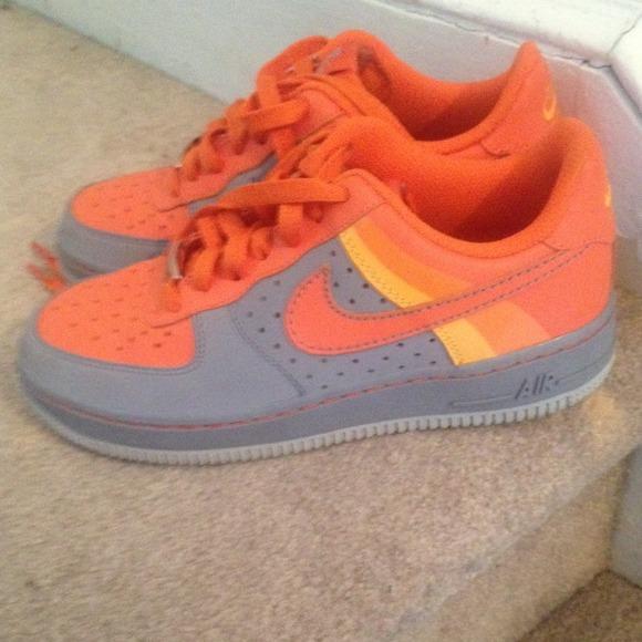 huge discount 391cb 6d5fd Vintage air force ones orange gray retro. Nike. M 5345935bb539e40c6731f268.  M 534593a0781950754530663c. M 534593a6781950754530664a