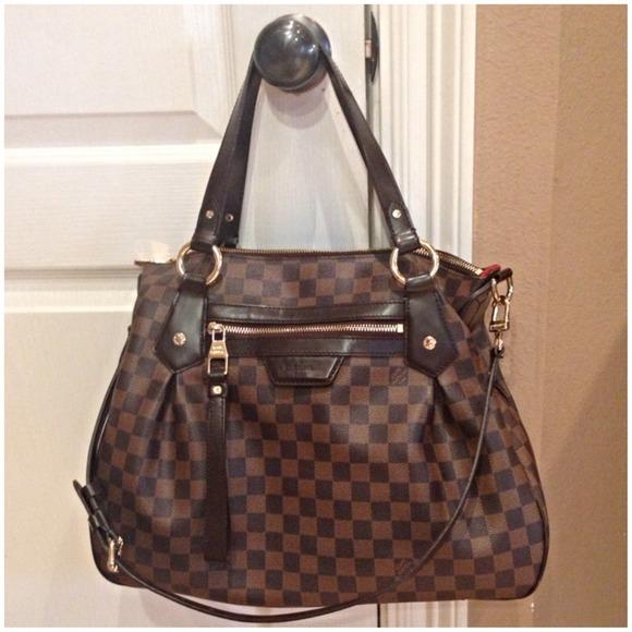 Louis Vuitton Handbags - 100% Authentic Louis Vuitton Evora MM Damier Ebene e518130d58121