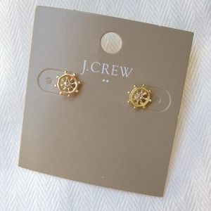 J. Crew Jewelry - J. Crew nautical wheel earrings