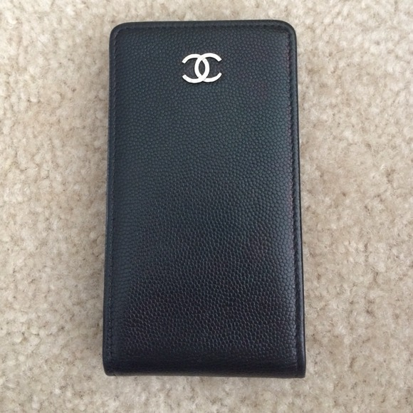 CHANEL Accessories | Iphone 44s Case Credit Card Holder ...