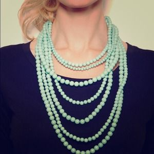 Jewelry - Layered Turquoise Beaded Strands