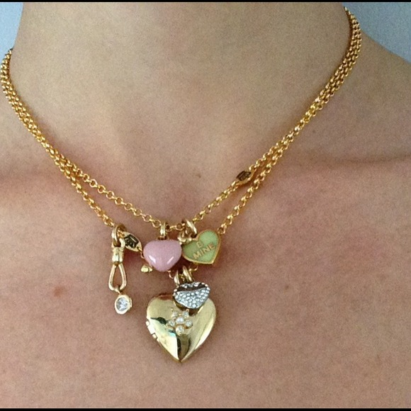 Juicy couture juicy couture charm necklace from zan 39 s for Juicy couture jewelry necklace