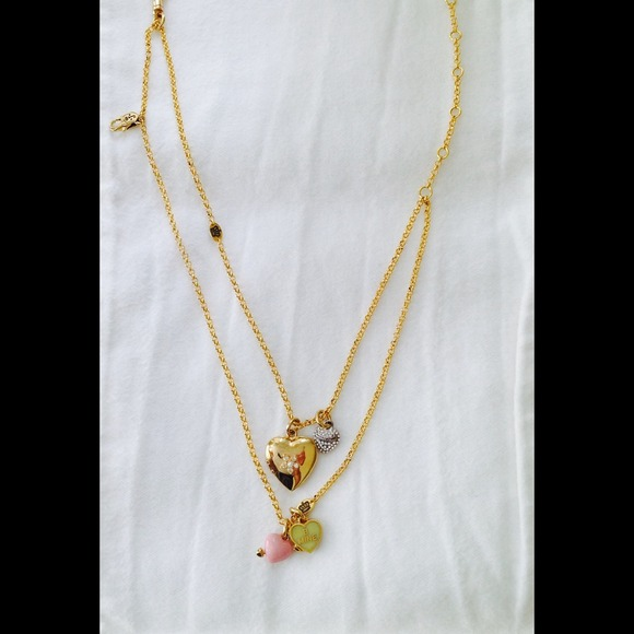 juicy couture juicy couture charm necklace from zans
