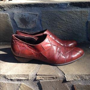 Genuine Leather Vintage Western Booties