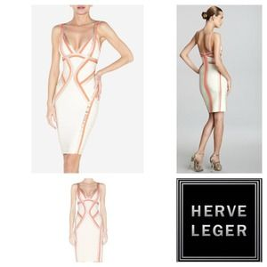 Herve Leger Dresses & Skirts - Herve ledger bandage bodycon dress