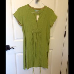 Boden linen dress.