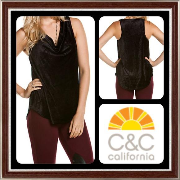 C&C California Tops - 💯Authentic C & C California Black Tank