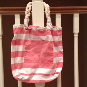Handbags - Orange beach bag