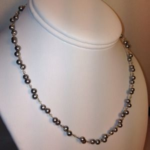 NEW! Blue Pearl Necklace