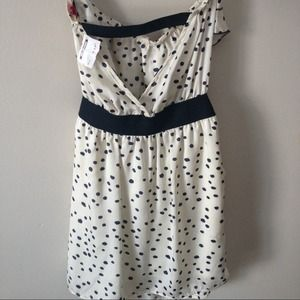 Dresses - Polka dot sleeveless dress