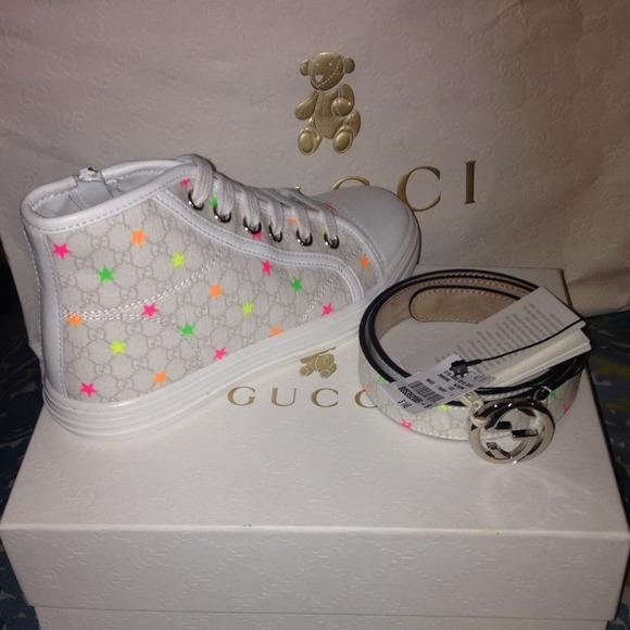 a9a7ceda1b5f Lil Girl Gucci shoe