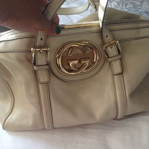 Authentic Gucci Boston Bag used no dust bag