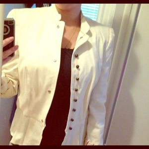 White Blazer from Zara