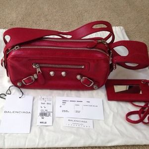 Balenciaga Giant Chic bag in Vermillion