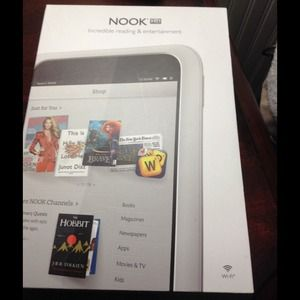 Accessories - Nook hd w case and charger hd wifi 8gb