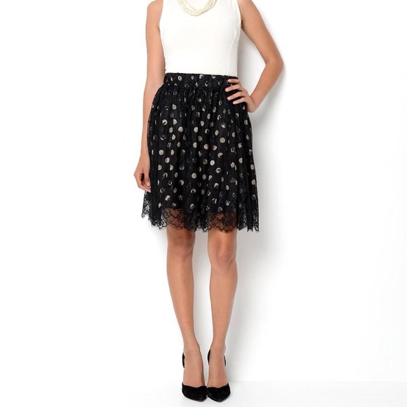 Ivanka Trump Dresses & Skirts - 🌟 Ivanka Trump polka dot skirt XS-S