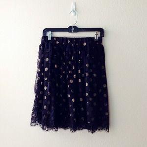 Ivanka Trump Skirts - 🌟 Ivanka Trump polka dot skirt XS-S 2