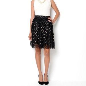 Ivanka Trump Skirts - 🌟 Ivanka Trump polka dot skirt XS-S 1