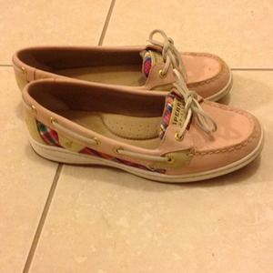 Sperry Top-Sider light Pink Shoes excellent new