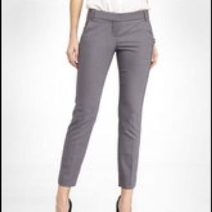 Weber Pants - Weber+Ahaus Grey Career Cuffed and Cropped Pants