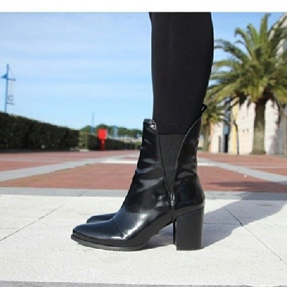 2018 shoes buy good various styles Zara Shoes | Patent Leather Ankle Boots | Poshmark