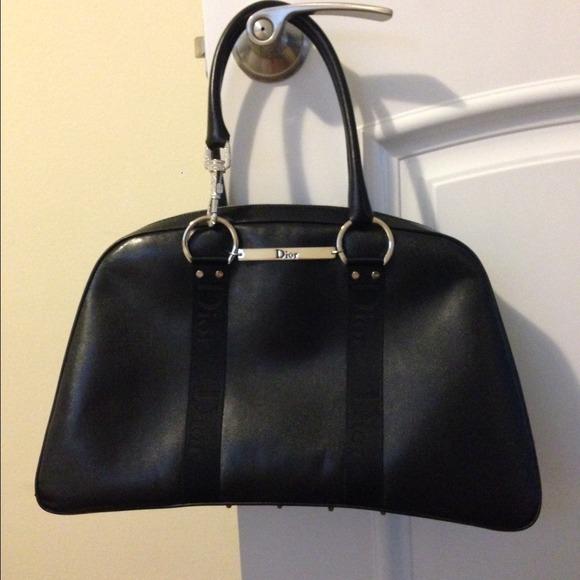 Dior Bags   Authentic Perfect Condition Leather Handbag   Poshmark 28e28a9e9c