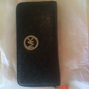 brand new Michael Kors Black leather wallet