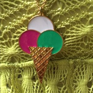 Kate Spade sweet treat ice cream pendant