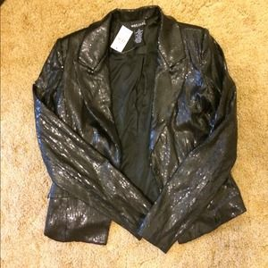 Wet Seal Jackets & Blazers - Sequined blazer