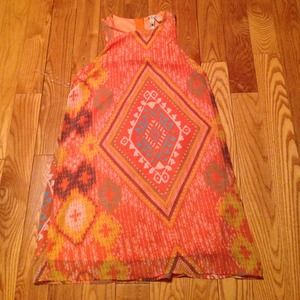 Orange Aztec Dress from Hope's