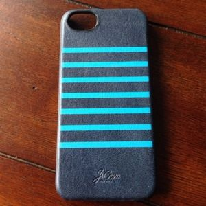 J.crew Genuine Leather iPhone 5 case