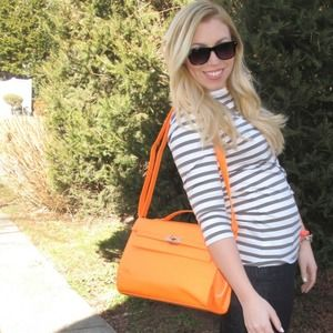 Shoedazzle Handbags - Neon orange handbag
