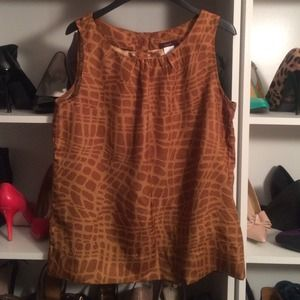 mark. Tops - Giraffe Print Tank Blouse