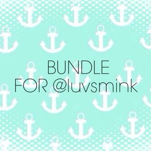 BUNDLE FOR @luvsmink 