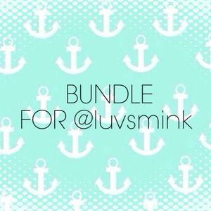 BUNDLE FOR @luvsmink 