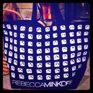Rebecca Minkoff Handbags - Authentic Rebecca Minkoff canvas bag!