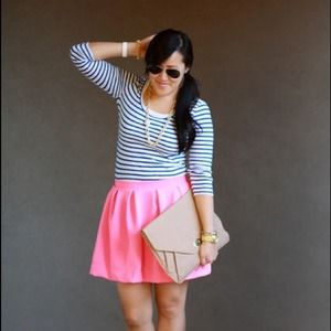 Dresses & Skirts - Hot pink circle skirt