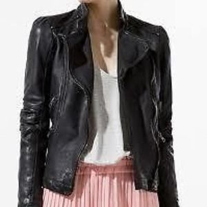 Zara Jackets & Blazers - Zara Leather Jacket