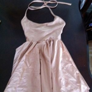 American Apparel Halter Dress