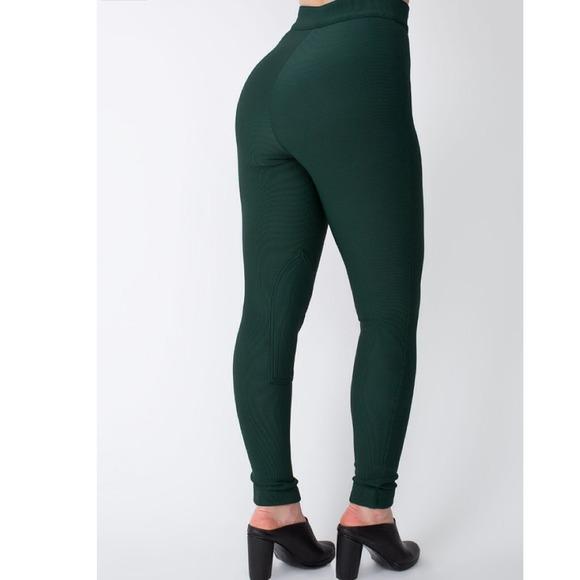 59% off American Apparel Pants - American Apparel Dark Green ...