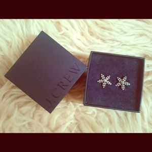 J. Crew starfish earrings