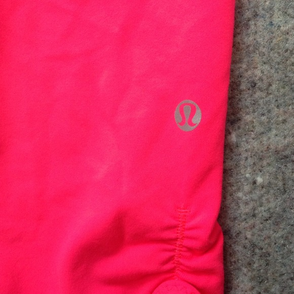 56% off lululemon athletica Pants - Hot pink LuLuLemon workout ...