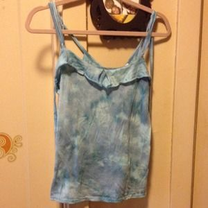 Urban Outfitters Tops - Silence+Noise Blue Flower Pattern Tank