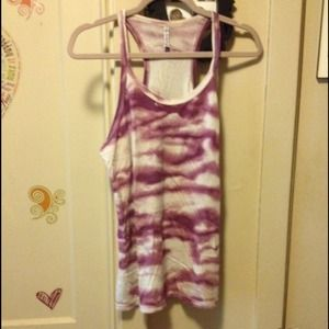 Urban Outfitters Tops - Truly Madly Deeply Purple Racerback Tee