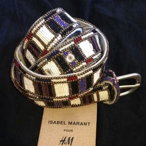 Isabel Marant pour H&M Accessories - Isabel Marant pour H&M beaded belt