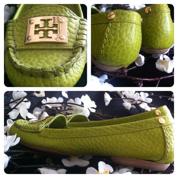 Tory Burch Shoes - ✨HOLD✨Tory Burch ❤️ Astor Moccasins in Lime Green 2