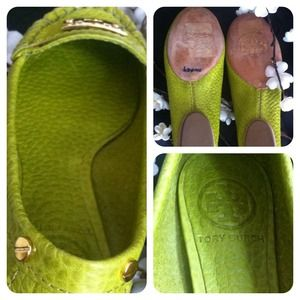 Tory Burch Shoes - ✨HOLD✨Tory Burch ❤️ Astor Moccasins in Lime Green 3