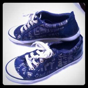 💚💚SOLD💚💚 Coach Barrett Poppy Sneakers Size 7B