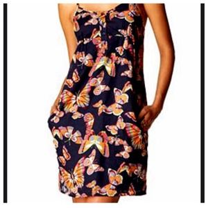 Old Navy butterfly print dress