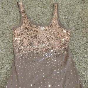 Tops - Sequin tank too. Never worn. Size large.